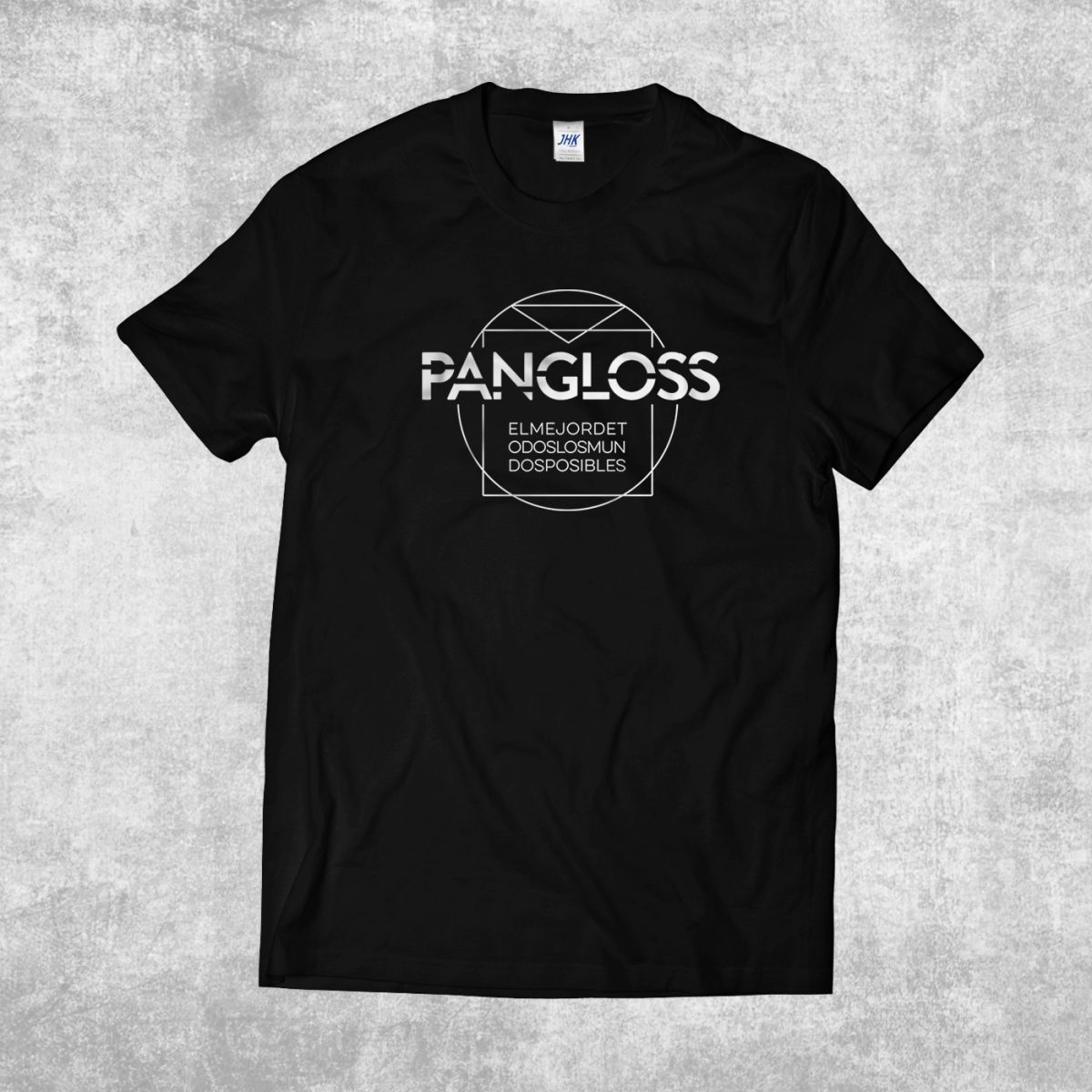 Camiseta chico Pangloss Vitruvio Hora Zulu tienda online