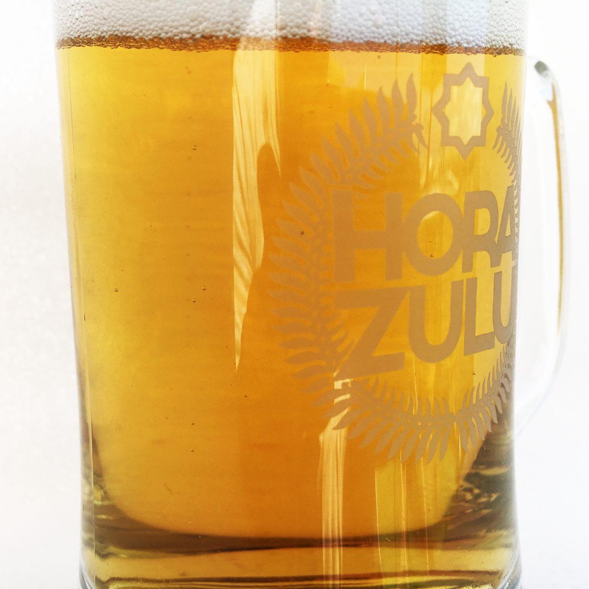 Jarra de cerveza Hora Zulu