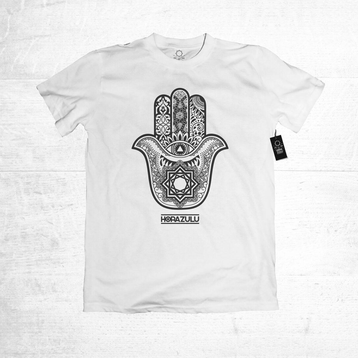 Camiseta de chico Hora Zulu Mano Blanca